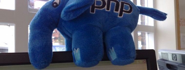 php-elephant-atop-laptop-screen