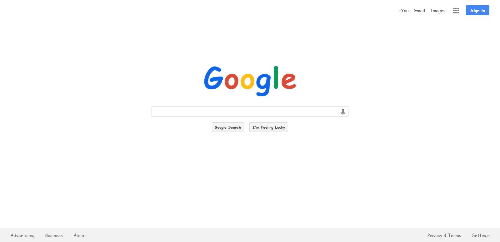 Google Comic Sans