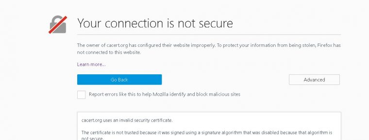 What do you mean my site is \'Not secure\'!?\