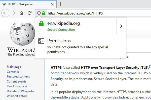 ssl secured status wikipedia